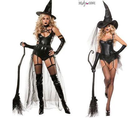 Nhung co nang sexy mac gi trong dem Halloween? - Anh 2