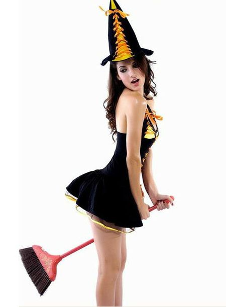 Nhung co nang sexy mac gi trong dem Halloween? - Anh 3