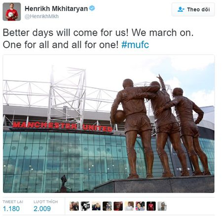 Dien bien phuc tap quan he giua Henrikh Mkhitaryan va Jose Mourinho - Anh 4