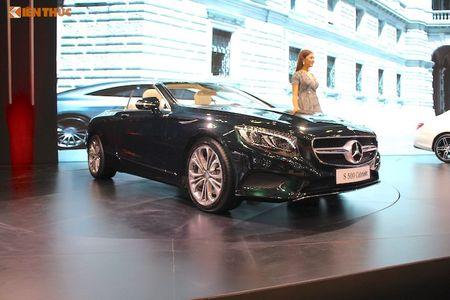 Mui tran Mercedes S500 Cabriolet gia 10,8 ty dong tai VN - Anh 1