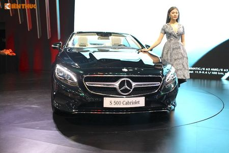 Mui tran Mercedes S500 Cabriolet gia 10,8 ty dong tai VN - Anh 2