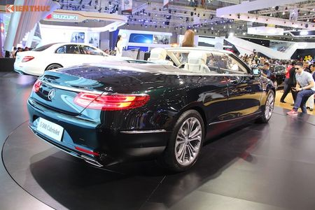 Mui tran Mercedes S500 Cabriolet gia 10,8 ty dong tai VN - Anh 4