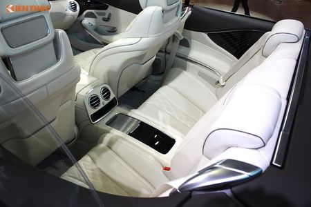 Mui tran Mercedes S500 Cabriolet gia 10,8 ty dong tai VN - Anh 6