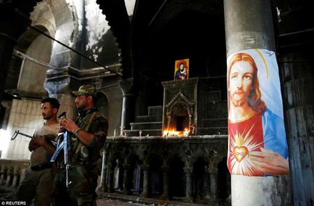 Le cau nguyen dau tien sau giai phong gan Mosul - Anh 5