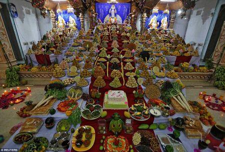 Tung bung le hoi Diwali o An Do qua anh - Anh 11