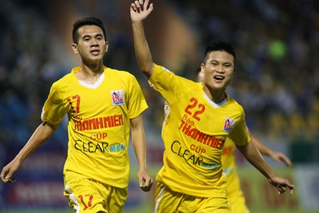 Thang chu nha 2-0, U.21 Ha Noi T&T gap lai Khanh Hoa o chung ket - Anh 1