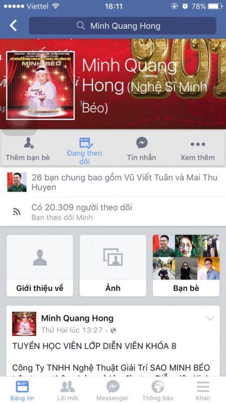 Minh Beo mo lai facebook va sap ve Viet Nam? - Anh 1
