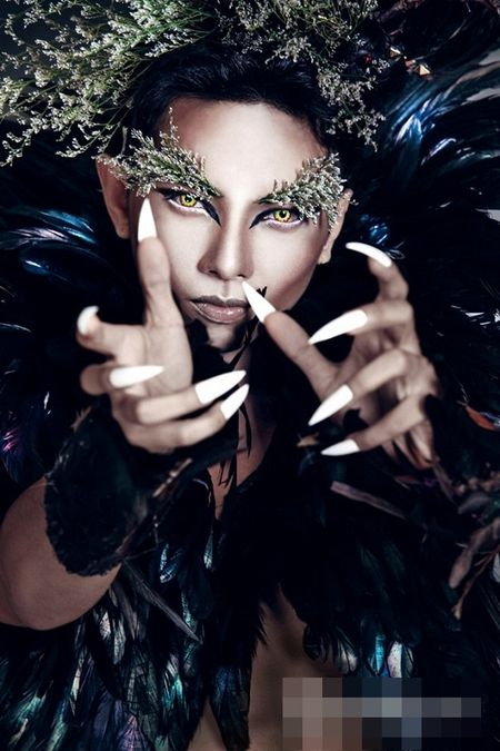 Halloween 2016: Sao Viet hoa trang kinh di, an tuong nhat - Anh 4
