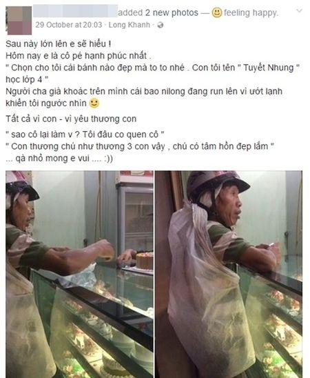 Chiec banh sinh nhat: Cau chuyen xuc dong ve hanh dong cua nguoi cha va co gai tre - Anh 1