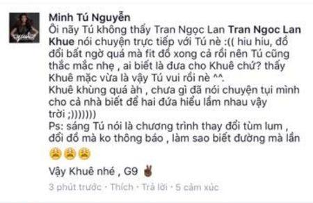 Cuoc chien chen ep doi do giua Lan Khue va Minh Tu on ao nhat MXH hom nay - Anh 6