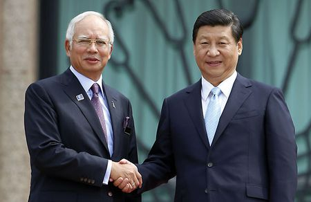 Sau Philippines, den luot Malaysia 'lam than' Trung Quoc? - Anh 1