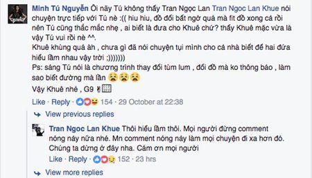 Bi Minh Tu to chen ep, tranh gianh vi tri, Lan Khue len tieng - Anh 5