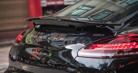 Cham mat Porsche Panamera phien ban dat nhat, hiem nhat tren pho Ha Noi - Anh 4