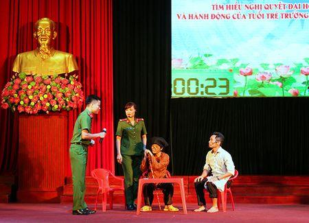 Trao giai Hoi thi tim hieu Nghi quyet Dai hoi Dang lan thu XII - Anh 3
