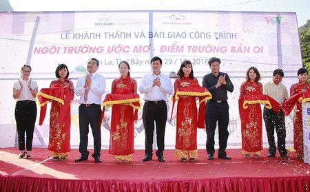 Hyundai Thanh Cong khanh thanh diem truong mam non tai tinh Son La - Anh 1