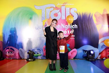 Gia dinh sao Viet hao hung voi 'Quy lun tinh nghich - Trolls' - Anh 9