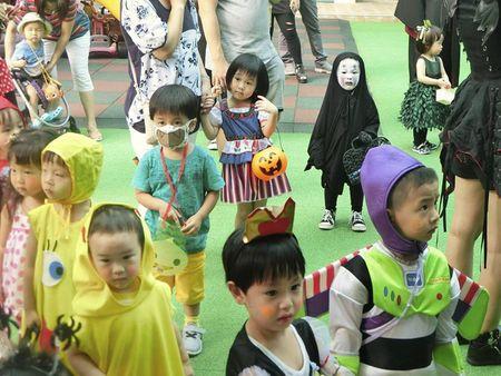 Be gai hoa trang 'Vo Dien' trong ngay Halloween hot nhat cong dong mang - Anh 6