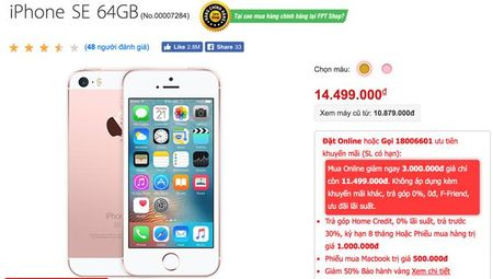 iPhone SE giam gia soc 3 trieu dong don iPhone 7 - Anh 3