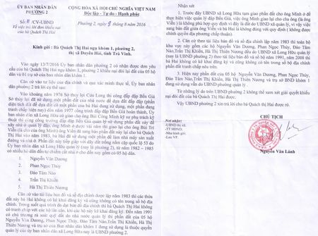 Tra Vinh: Dat cua dan bi chiem dung da 20 nam chinh quyen van chua giai quyet - Anh 1