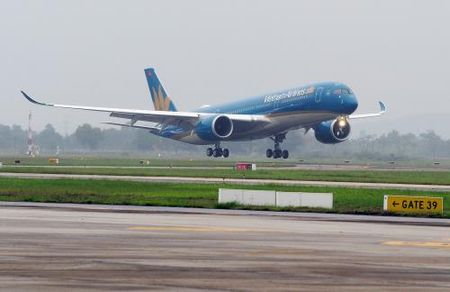 Vietnam Airlines co sieu may bay Airbus A350 thu 5 - Anh 1