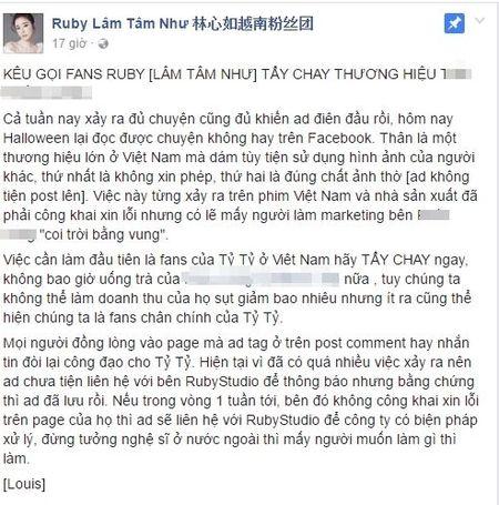 Halloween: Fan phan no khi quan ca phe lon o Sai Gon 'lap ban tho' Lam Tam Nhu - Anh 5