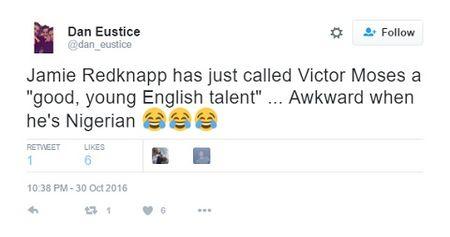 Jamie Redknapp bi che nhao du doi vi goi Victor Moses la 'tai nang tre nguoi Anh' - Anh 13