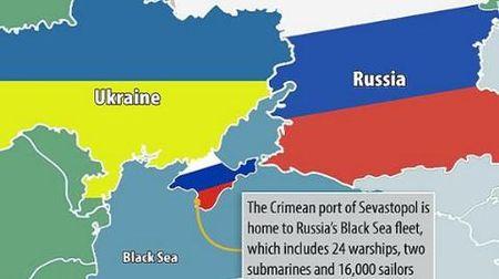 Ukraine van dung UNCLOS, chuan bi kien Nga ve Crimea - Anh 1