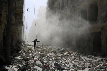 Hoa binh Syria: My buoc theo chan Nga- Tho Nhi Ky- Iran - Anh 1