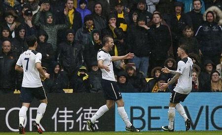 Kane, Alli cung lap cu dup, Tottenham danh sap phao dai Vicarage - Anh 1