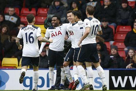 Kane, Alli cung lap cu dup, Tottenham danh sap phao dai Vicarage - Anh 2