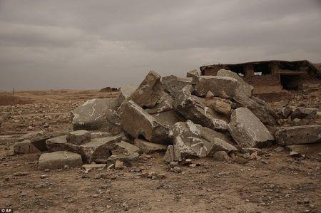 Canh tan hoang o thanh pho co Nimrud bi IS tan pha - Anh 1