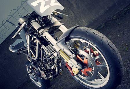 Ducati Multistrada do streetfighter 'tran trui' sieu doc - Anh 1