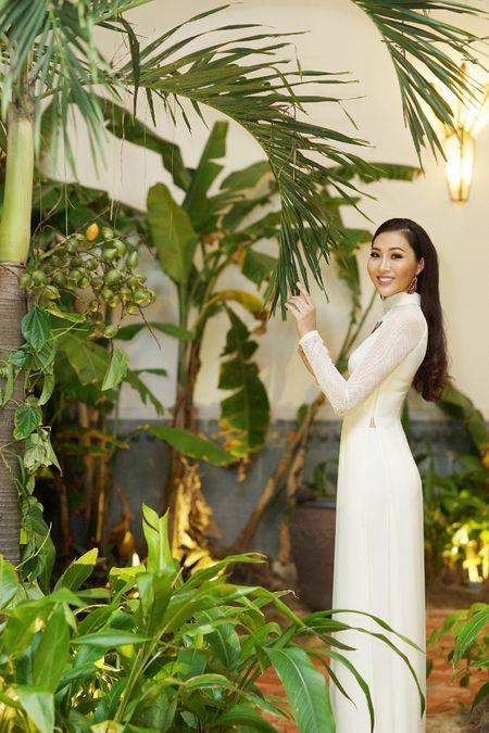 Hoa Khoi Ao Dai Dieu Ngoc dam tham trong tiec mung nam moi - Anh 3
