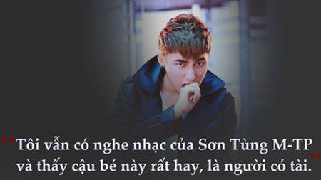 Cau noi 'ngu' khien Son Tung den gio van hoi han - Anh 2