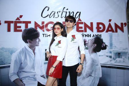 Tim – Truong Quynh Anh dien do doi casting dien vien cho MV moi - Anh 1