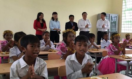 Ninh Thuan: Them 6 phong hoc moi cho truong tieu hoc Phuoc Thanh B - Anh 1
