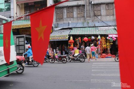 Pho Sai Gon nhon nhip, ngap sac xuan trong ngay nghi Tet duong lich 2017 - Anh 1