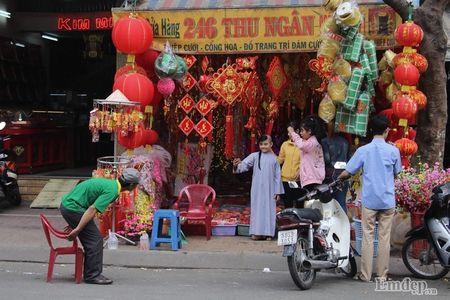 Pho Sai Gon nhon nhip, ngap sac xuan trong ngay nghi Tet duong lich 2017 - Anh 18