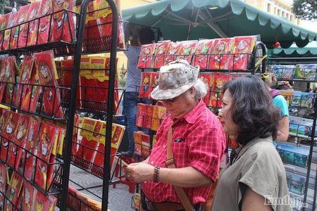 Pho Sai Gon nhon nhip, ngap sac xuan trong ngay nghi Tet duong lich 2017 - Anh 21