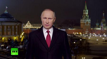 Loi chuc mung nam moi cua Putin gui toi Trump - Anh 1