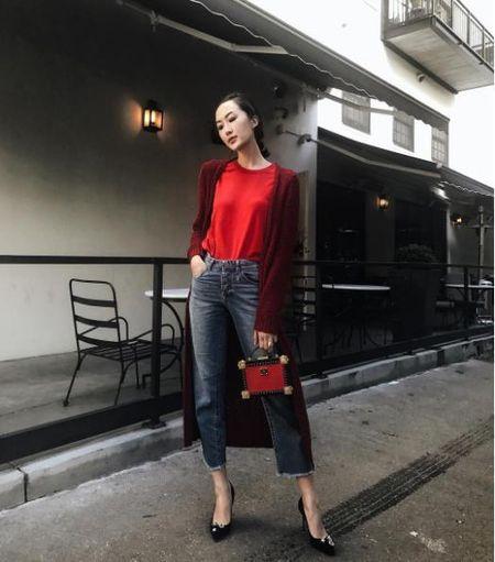 Cung hoc hoi 'bi kip' phoi hop trang phuc cho ngay dau nam tu 4 nang fashion blogger instagram - Anh 4