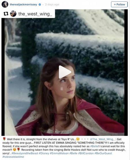 Emma Watson gay sot khi lan dau khoe giong lai con hat… nhac phim - Anh 1