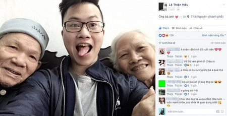 Day chinh la nguyen mau trong 'Ong ba anh' cua Le Thien Hieu: vui ve va biet ca selfie! - Anh 1