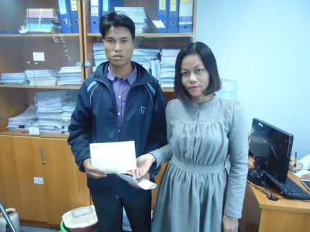Gan 55 trieu dong den voi be Lo Minh Khang mac tim bam sinh - Anh 1