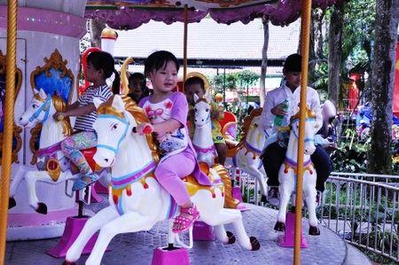 Ngay dau nam 2017, khu vui choi Sai Gon chat cung nguoi - Anh 5