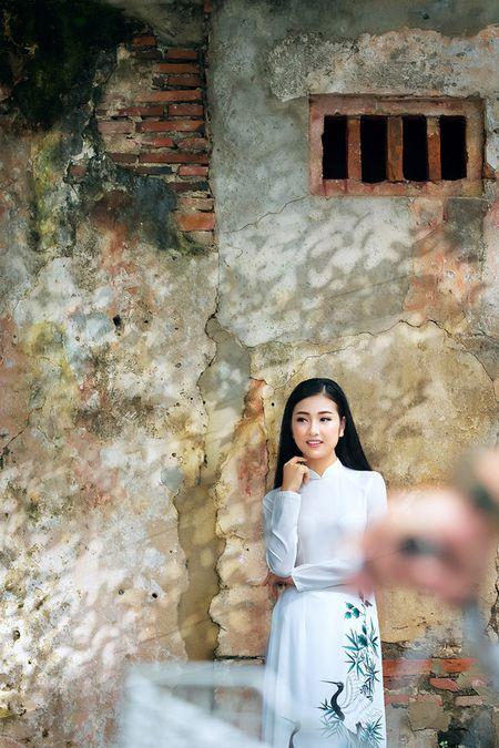 Thieu nu Quang Nam duyen dang trong ta ao dai - Anh 2