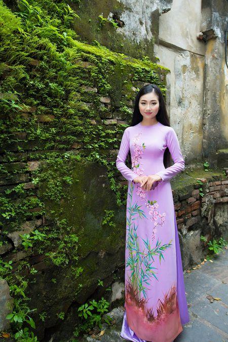 Thieu nu Quang Nam duyen dang trong ta ao dai - Anh 5