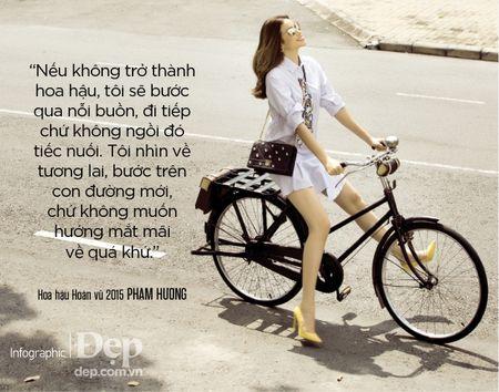 Pham Huong: 'Neu khong thong minh va ban linh se chang bao gio duoc dung hang dau' - Anh 9
