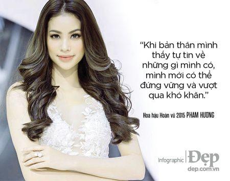 Pham Huong: 'Neu khong thong minh va ban linh se chang bao gio duoc dung hang dau' - Anh 1