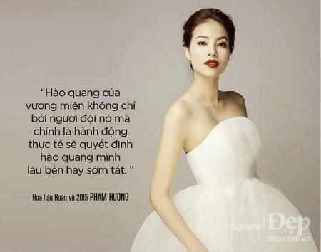Pham Huong: 'Neu khong thong minh va ban linh se chang bao gio duoc dung hang dau' - Anh 2